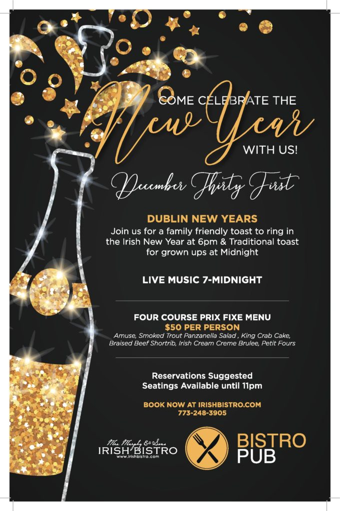 ring in the new year at mrs murphys